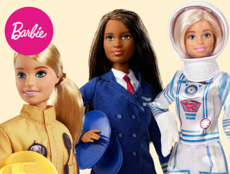 Barbie 60th Anniversary Career Dolls from Mattel