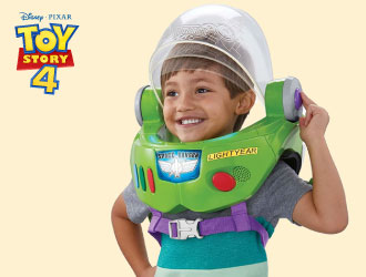 Toy Story 4 Buzz Lightyear Space Ranger Armor from Mattel