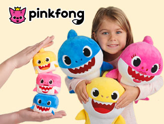 Baby Shark Plush Toys from WowWee