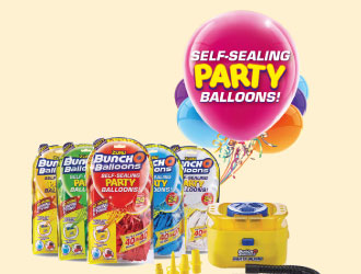 Bunch O Balloons Self-Sealing Party Balloons from Zuru