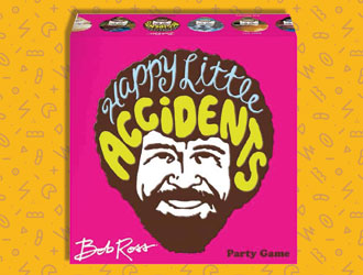 Bob Ross: Happy Little Accidents Party Game from Big G Creative