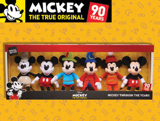 Mickey the True Original Mickey Through the Years Stuffed Toy Collection from Just Play