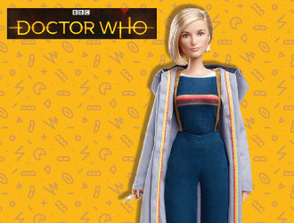 Barbie Doctor Who Doll from Mattel