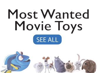Most Wanted Movie Toys