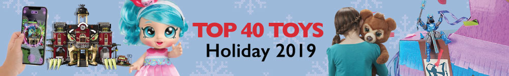 Top 40 Toys Holiday 2019