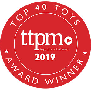 Top 40 Toys Holiday 2019 Badge