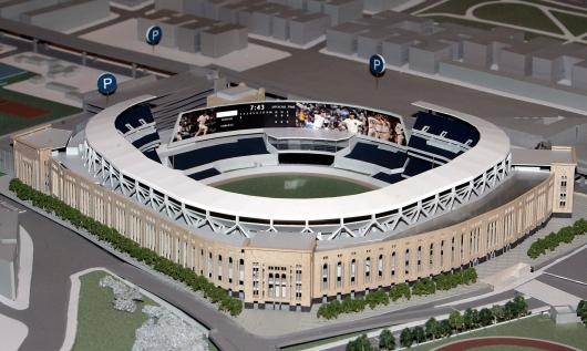 The New Yankee Stadium And