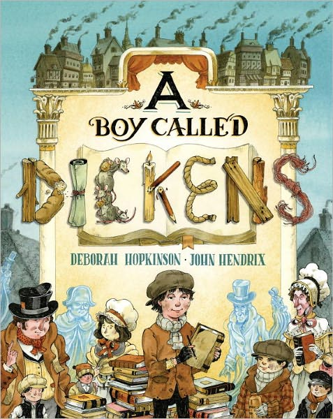 A Boy Called Dickens: picture book giveaway!