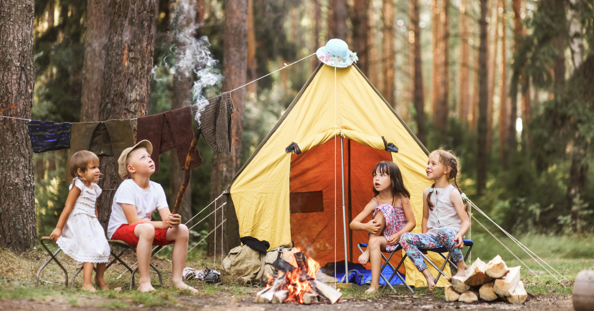 Time to Play: When We Go Camping