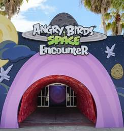 Angry Birds Invade Kennedy Space Center