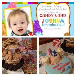 Planning Baby's Candy Land 1st Birthday