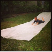 How to Make a Simple Homemade Slip 'n Slide