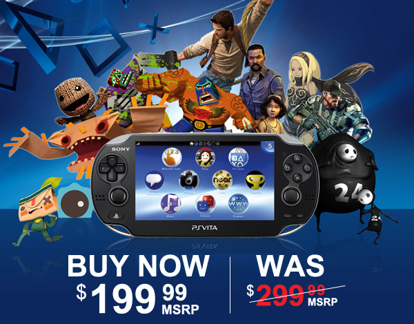 PlayStation Drops Price of PS Vita