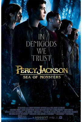 In Theaters, Percy Jackson: Sea of Monsters