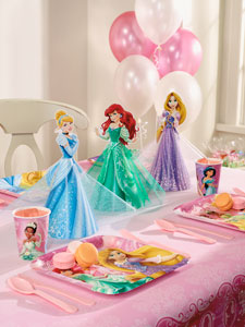 Princess Table Decor