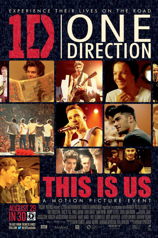 Box Office: 1D Doesn't Do It Over Long Weekend