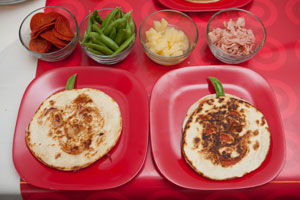 Fall Party Recipe: Cheesy Pumpkin-Face Quesadillas