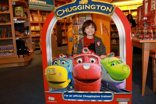 Preschooler Birthday Party: Partying with Chuggington