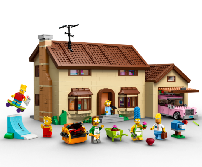 LEGO Simpsons Sets Are Here