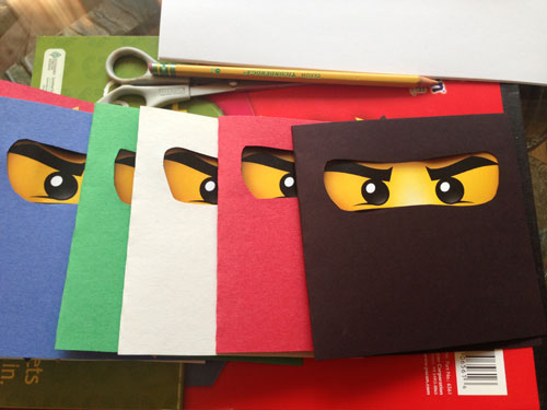 Ninjago: Thank You Cards