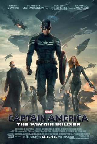 In Theaters, Captain America: The Winter Soldier