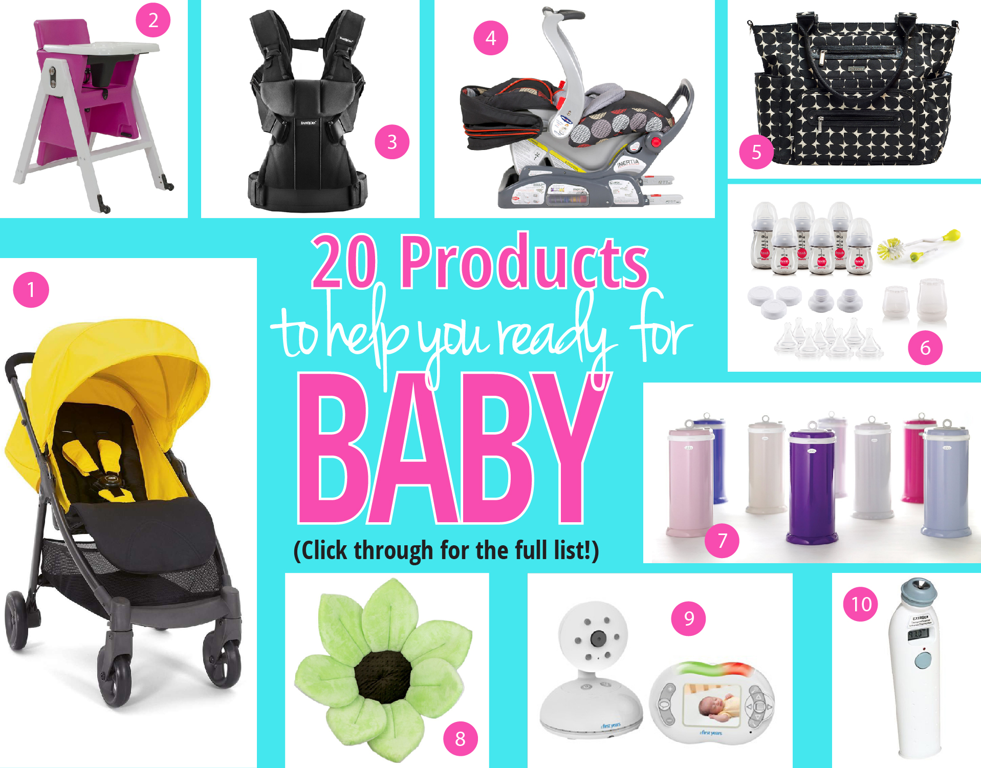 20 Products to Help You Get Ready for Baby