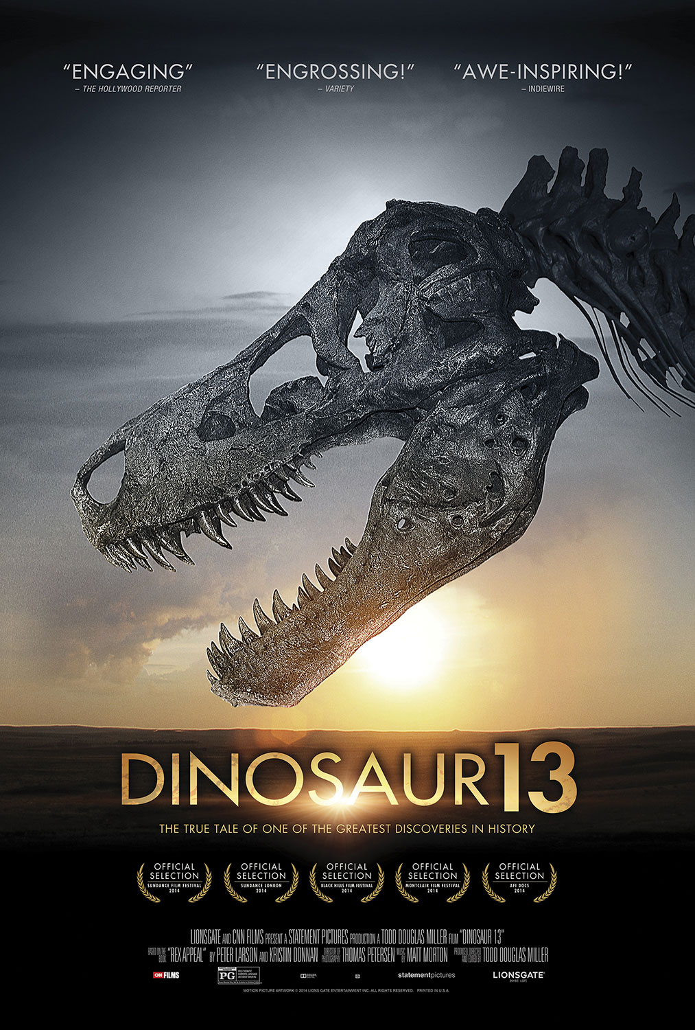 In Theaters: Expendables 3, Dinosaur 13