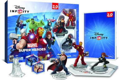 Disney Infinity: Marvel Super Heroes Starter Pack