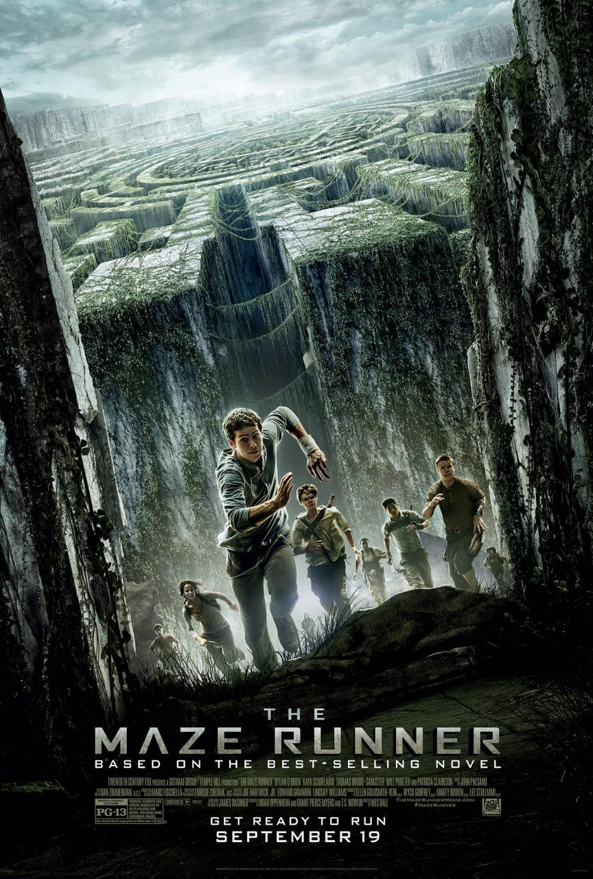 In Theaters, The Maze Runner