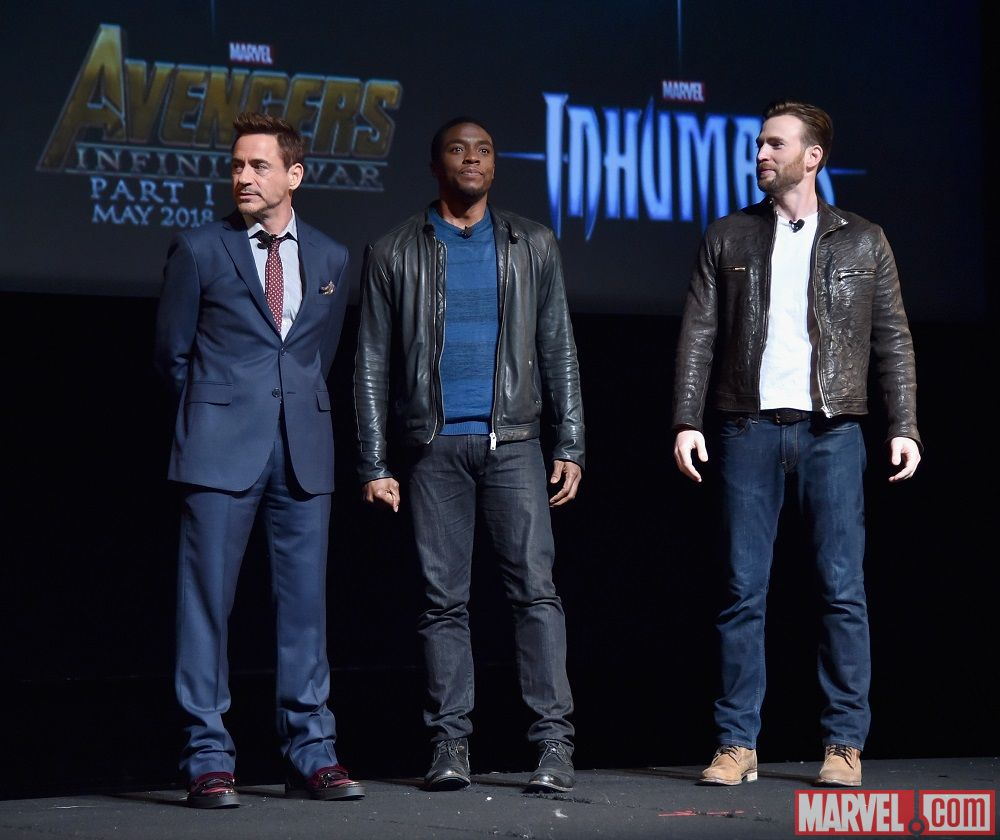 Marvel studios held an event yesterday to unveil the company's next