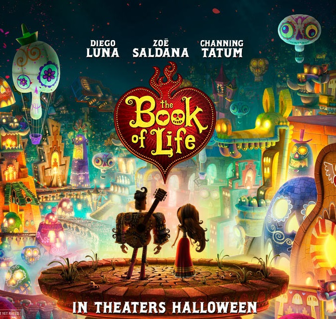In Theaters, The Book of Life