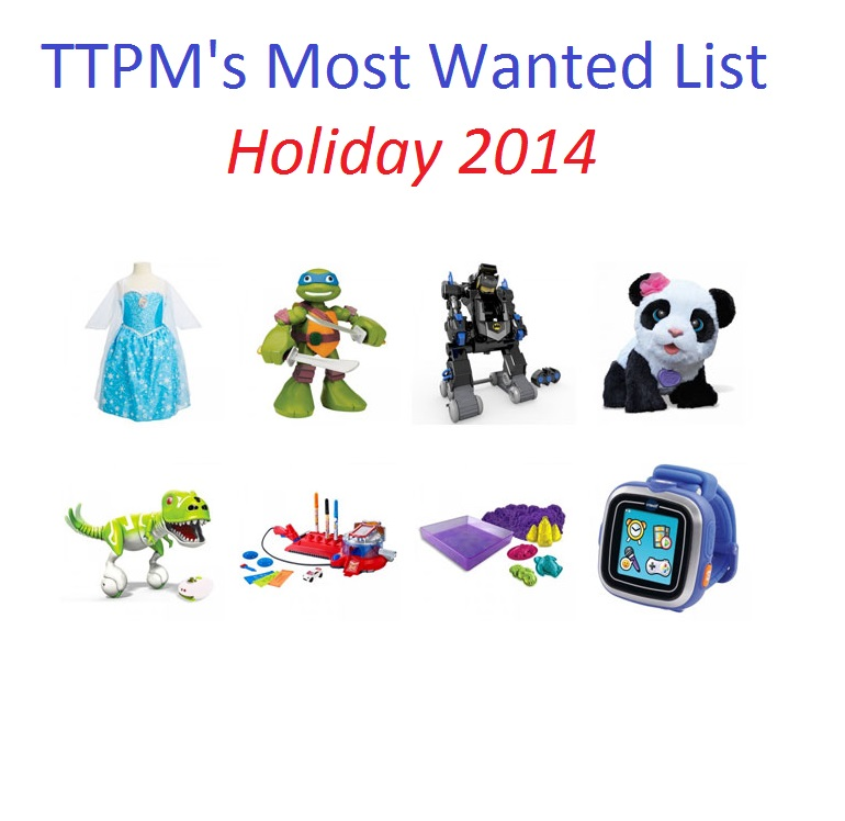 TTPM's Most Wanted List, Holiday 2014