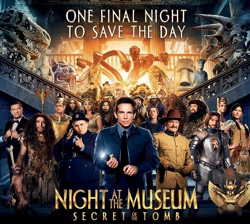 In Theaters, Night at the Museum: Secret of the Tomb