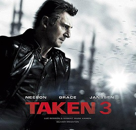 Box Office, Taken 3 Takes the Top Spot