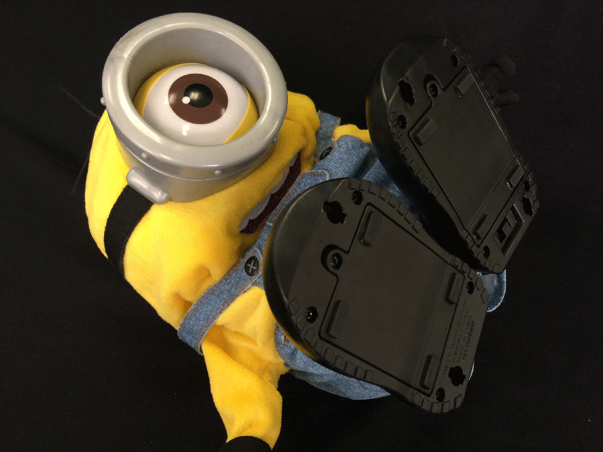 Minions Movie Tumblin' Stuart from Thinkway Toys
