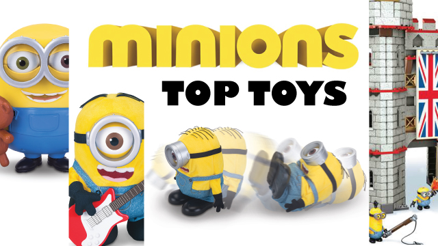 Top Minions Movie Toys