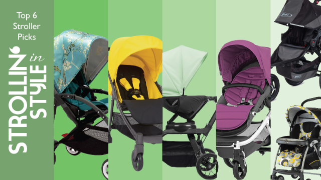 Strollin' in Style: Top 6 Stroller Recommendations