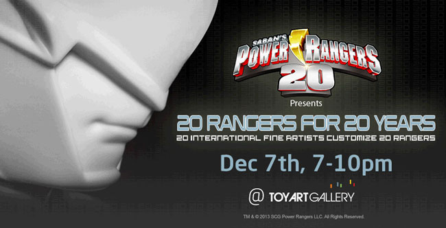 Power Rangers 20th Anniversary Art Exhibition