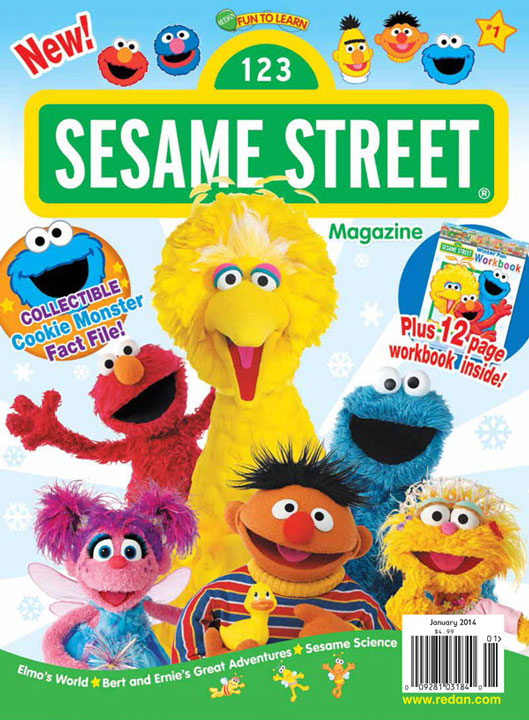 Sesame Street Launches New Magazine for Preschoolers