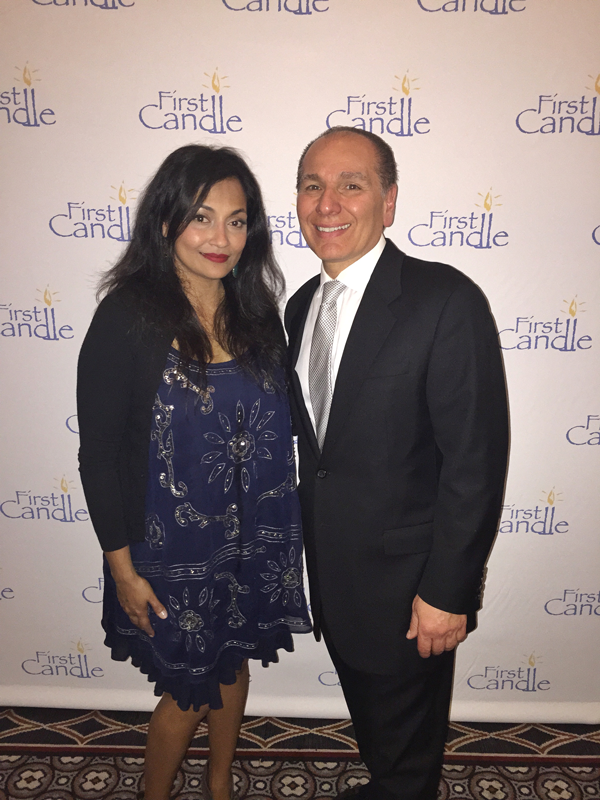 Maria with Delta Childrens Products' president Joe Shamie