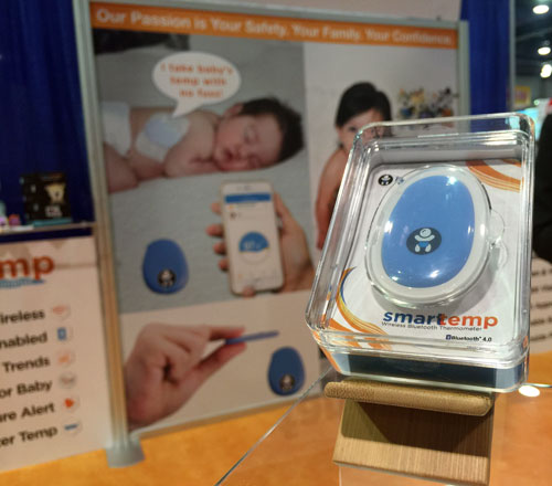 Infant Tech's Smart Temp Wireless Bluetooth Thermometer. MSRP $69.99.
