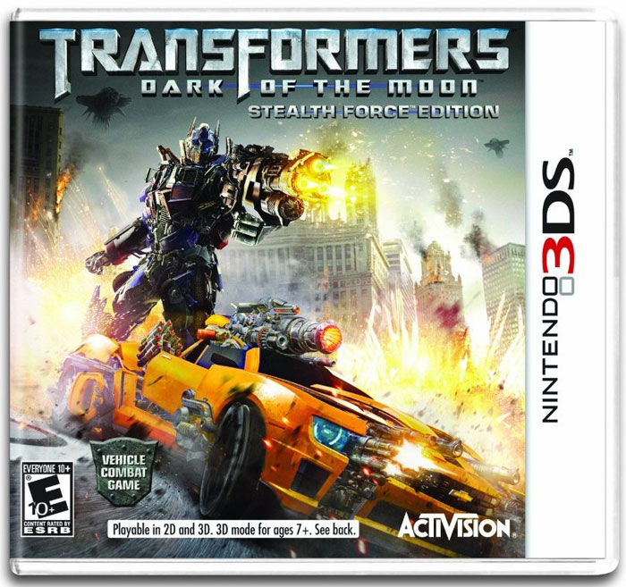 Transformers: Dark of the Moon, the Video Game