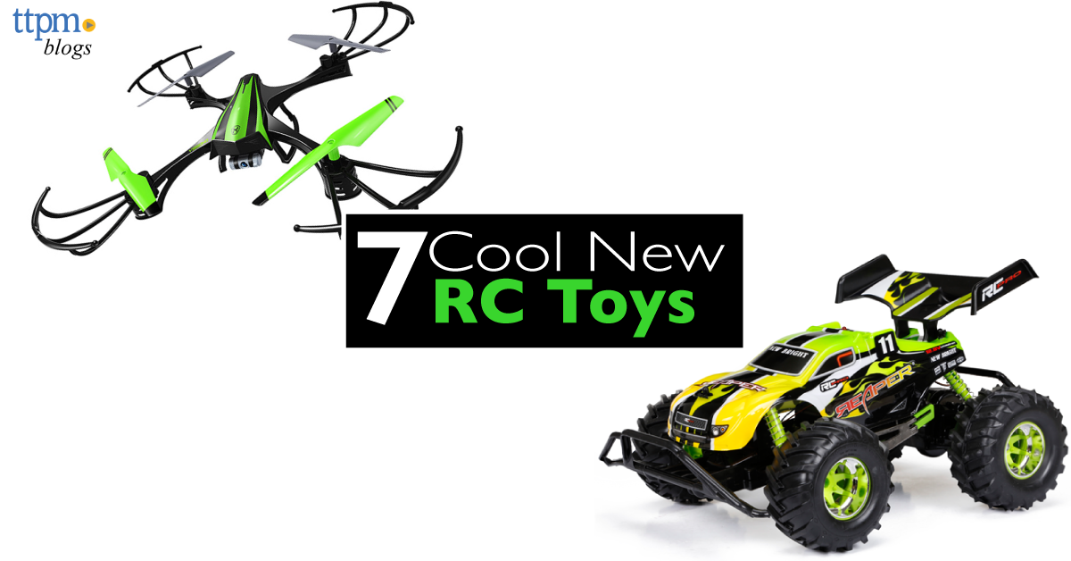 7 Cool New Remote Control Toys