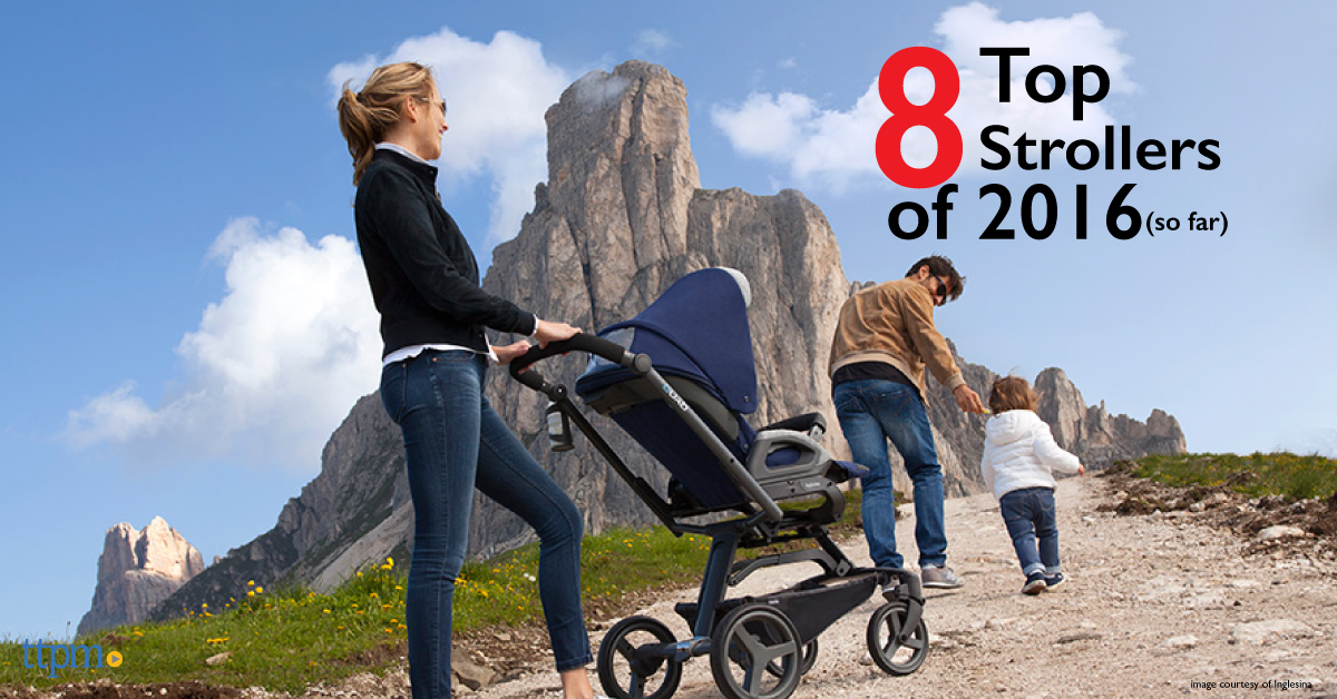Top 8 New Strollers of 2016 (So Far)