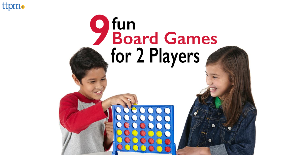 9 Fun Board Games For 2 Players