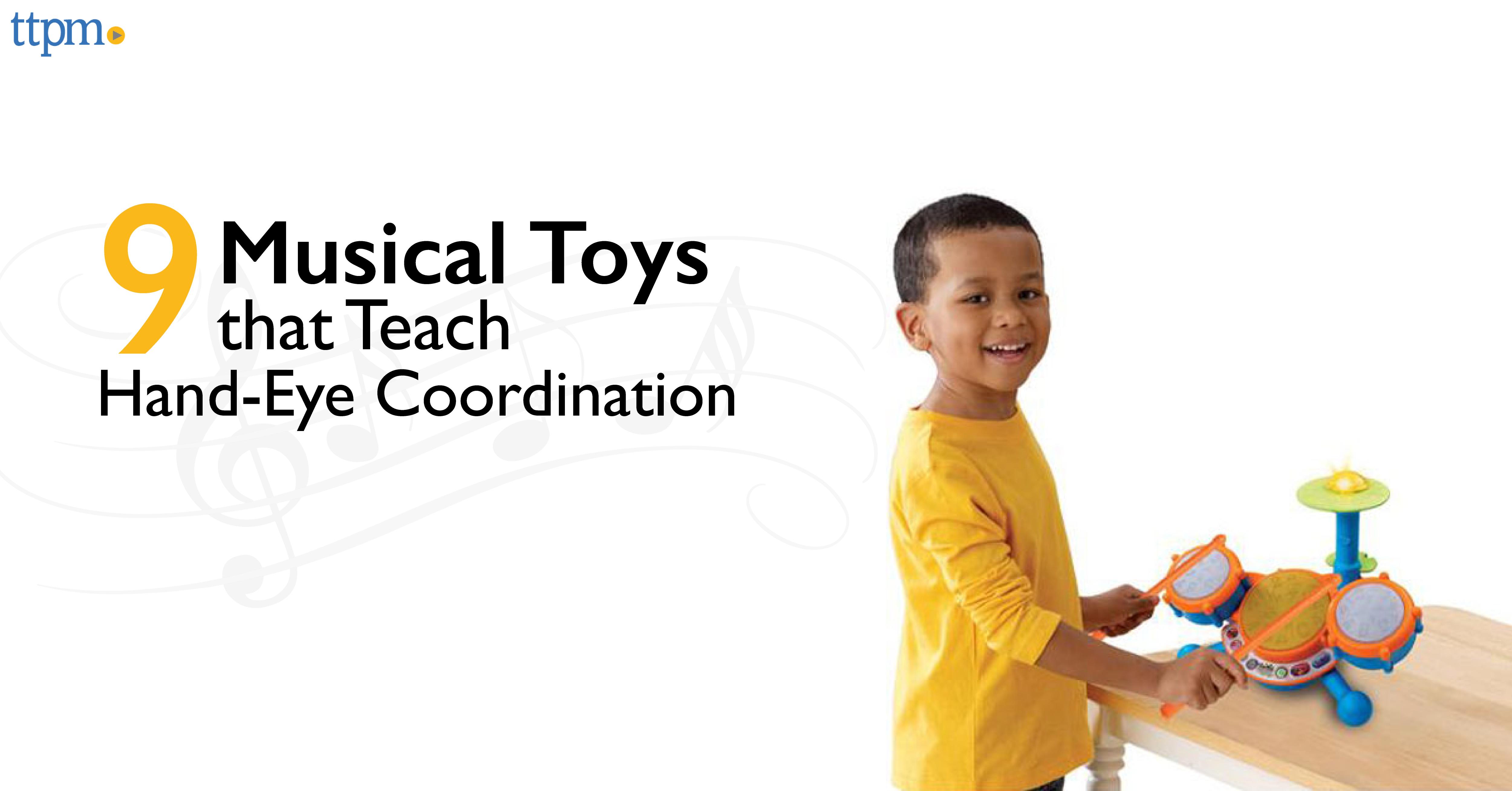 9 Music Toys That Teach Hand-Eye Coordination