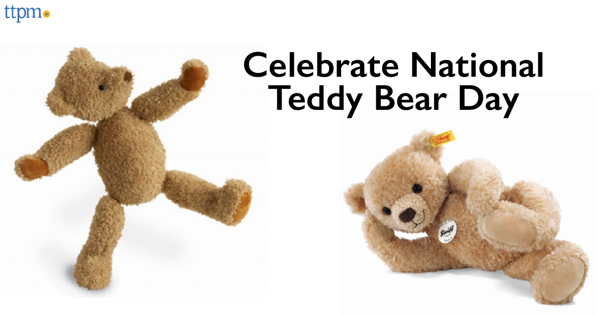 Celebrate 2016 National Teddy Bear Day, September 9
