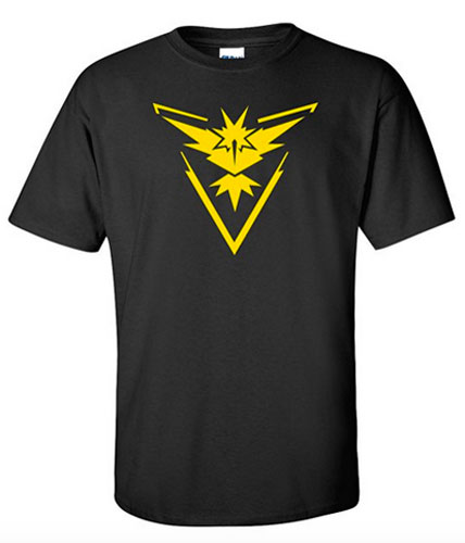 Pokemon Team Instinct Tshirt