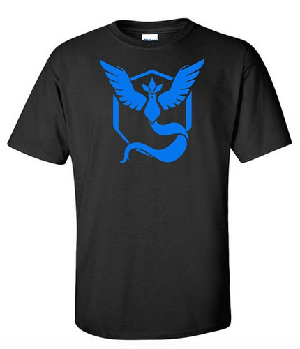 Pokemon Team Mystic Tshirt