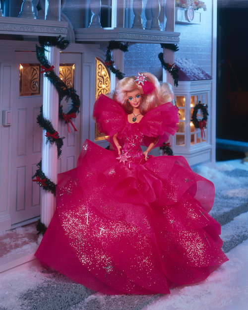 1990 Holiday Barbie